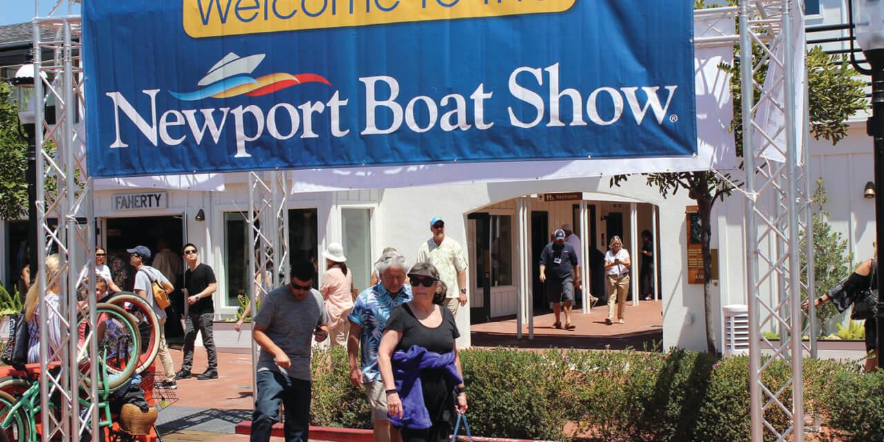 46th Annual Newport Boat Show Cruises into Lido Marina Village